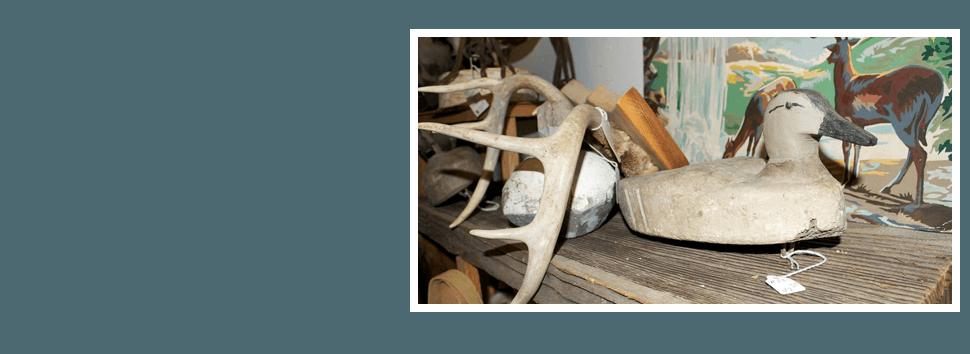 Antique animal design decors