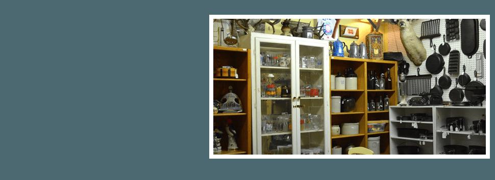 Vintage kitchen equipments