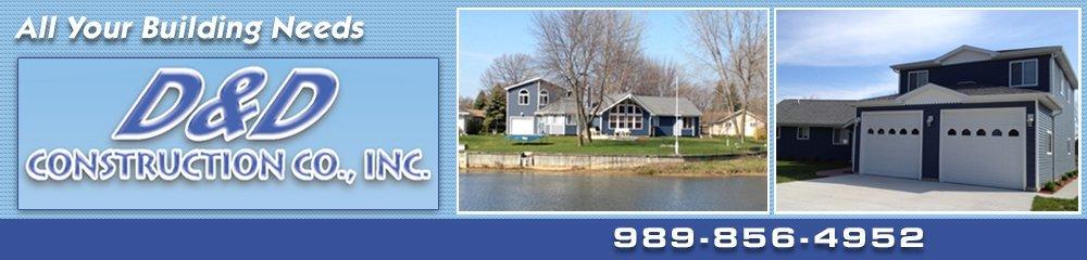 Home remodeling - Caseville, MI - D & D Construction Co Inc