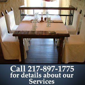 Guest house - Champaign, IL - Linda's Oak Meadows Bed and Breakfast Resort - Call 217-897-1775 for details about our Services