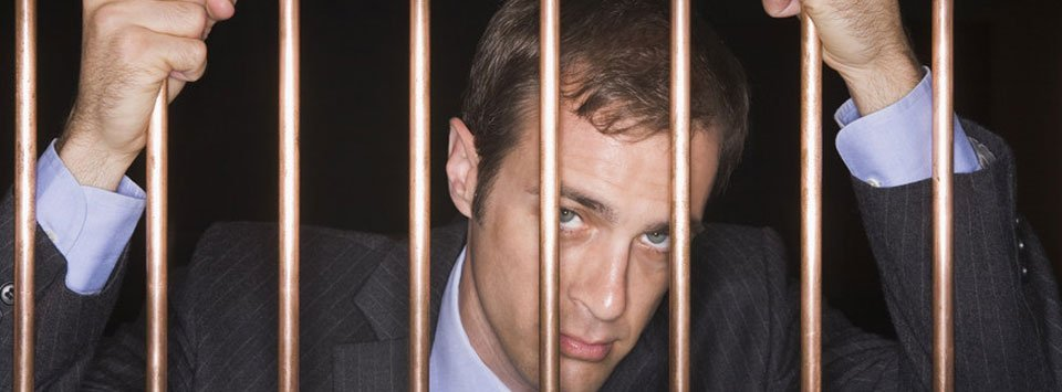 Man in the jail