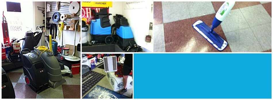 Residential vacuums at Avalon Vacuum & Janitorial Supply Company