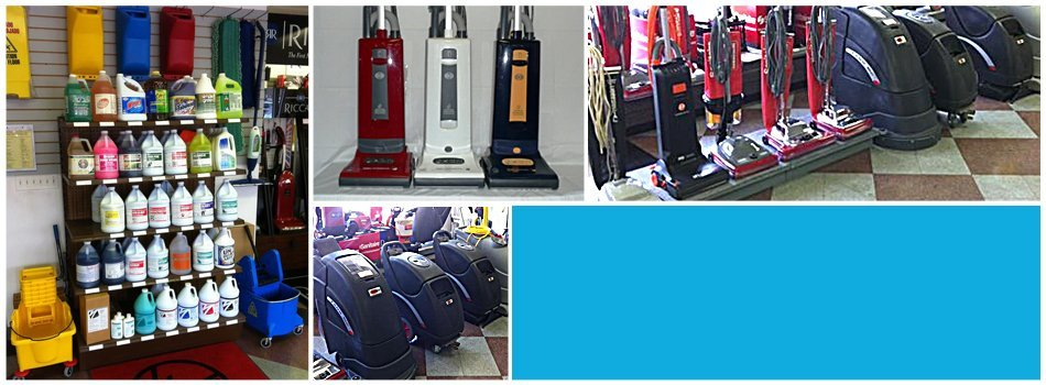 Janitorial supplies at Avalon Vacuum & Janitorial Supply Company
