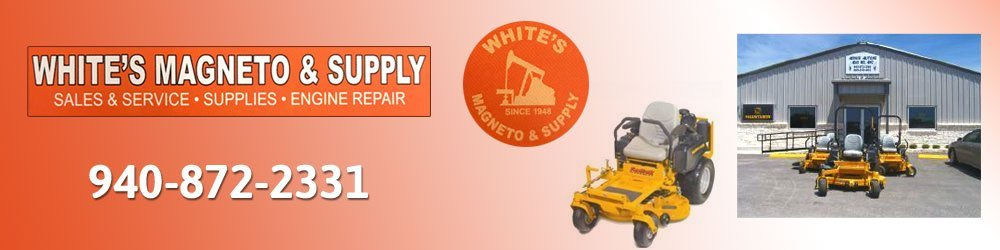 Lawn Mowers - Bowie, TX - White's Magneto & Supply