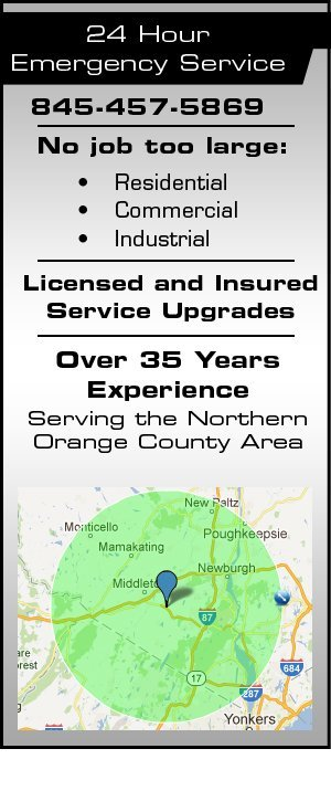 Underground Electric - Northern Orange County, NY - Frank E Turner Electrical Contractors Inc