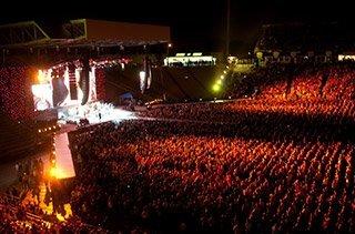 Tinley Park concert