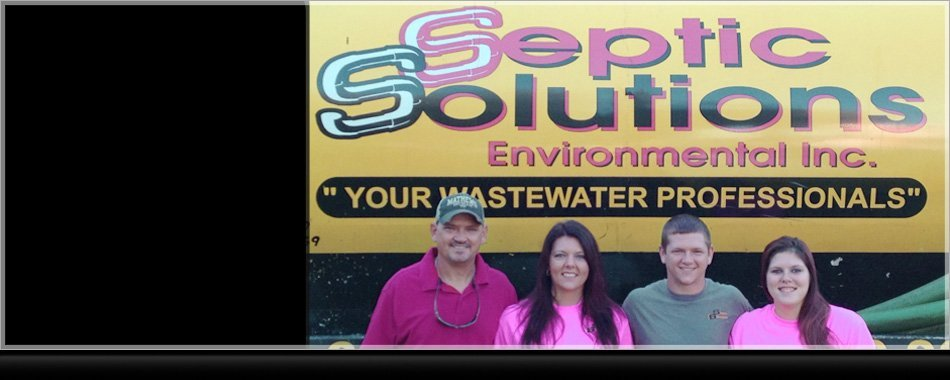 Men and women of Septic Solutions Environmental Inc.