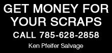 Salvage Services - Hays,  KS - Ken Pfeifer Salvage