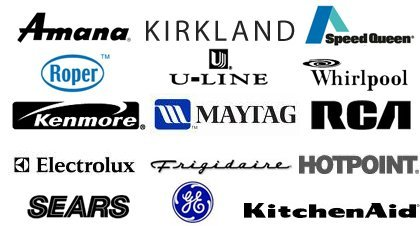 Appliances - Newport Beach, CA - Universal Appliance Co. - GE - U-Line - Electrolux - Frigidaire - Maytag - Kenmore - Whirlpool - Roper - RCA - Kirkland - Amana - Kitchen aid - Speed queen - Hotpoint -Sears