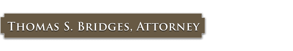 Thomas S. Bridges, Attorney - Owosso, MI - Lawyer