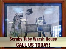 King size comforters - Sevierville, TN - Scruby Tuby Warsh House - Laundromat