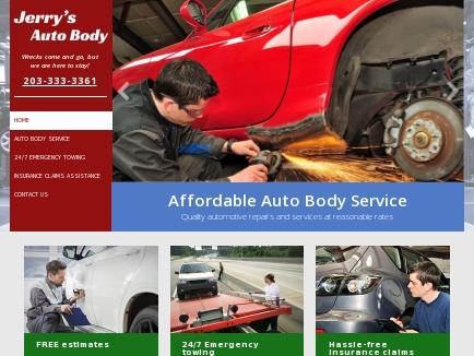 Jerry's Auto Body - Auto Services | Bridgeport, CT
