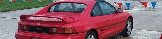 1993 Toyota MR2 Spyder
