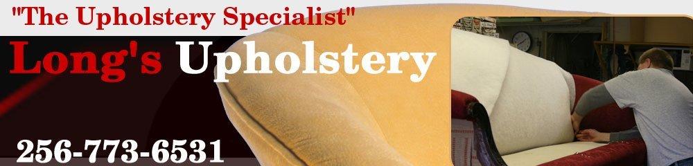 Upholstery Company - Hartselle, AL - Long's Upholstery