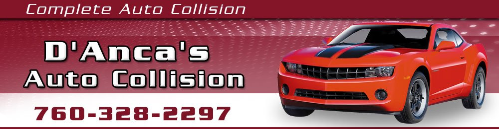 Auto Body and Collision Repair - Palm Springs,CA - D'Anca's Auto Collision