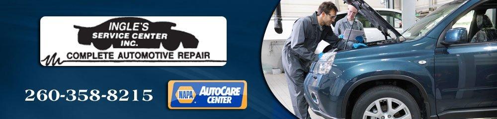 Automotive Repair Shop - Huntington, IN - Ingle's Service Center INC.
