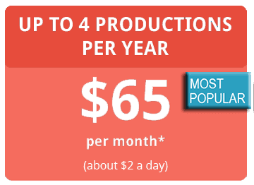 4 Productions per Year Coupon