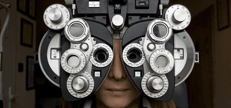 Optometrist diopter
