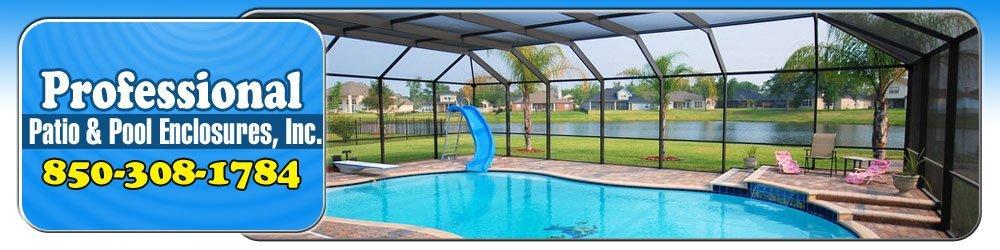 Pool Services - Pensacola, FL - Professional Patio & Pool Enclosures, Inc.