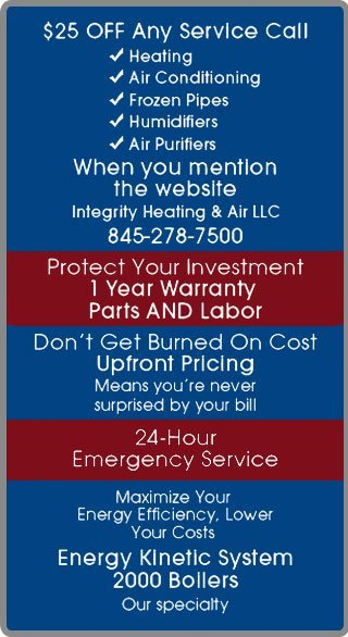 Heating System Brewster NY Integrity Heating Air Conditioning