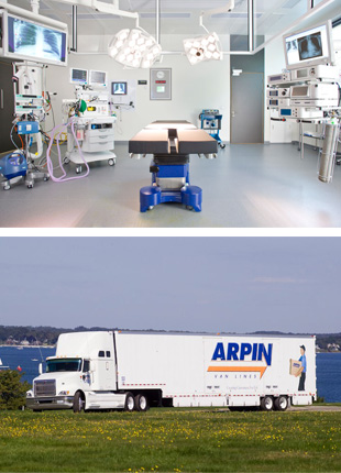 Hospital and Laboratory Moving - Milwaukee, WI - C. Coakley Relocation Systems