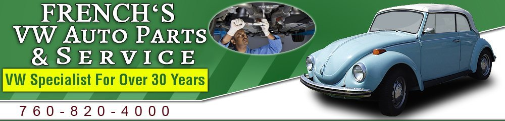 Auto Repair Yucca Valley, CA - French's VW Auto Parts & Service