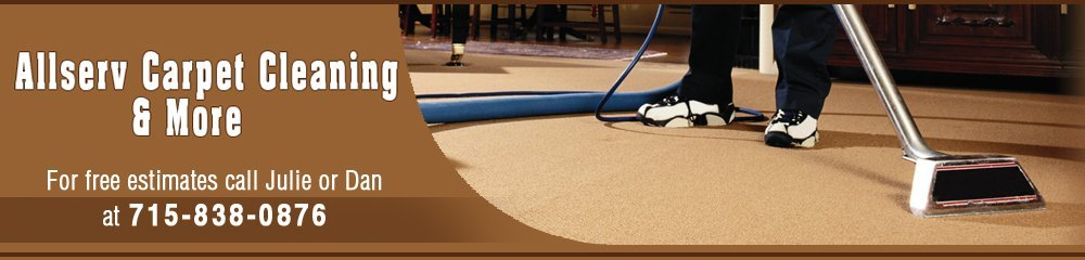Carpet Cleaners - Eau Claire, WI - Allserv Carpet Cleaning & More