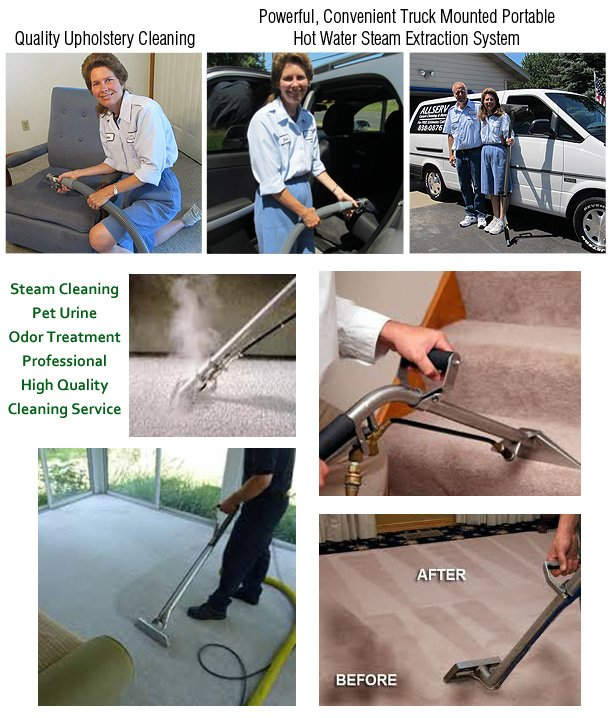 Carpet Cleaning Service - Eau Claire, WI - Allserv Carpet Cleaning & More