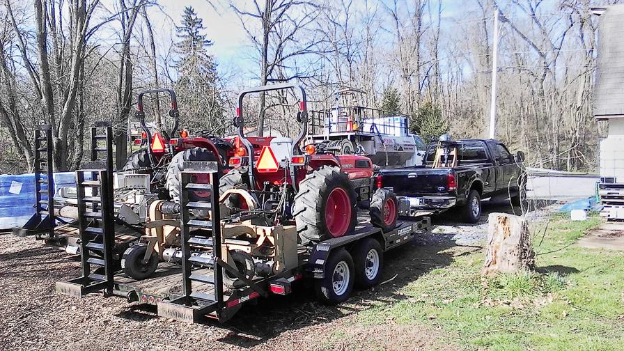 Hydro seed Equipments
