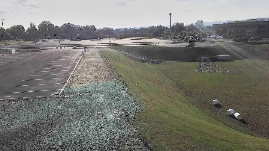 Commercial hydroseeding service