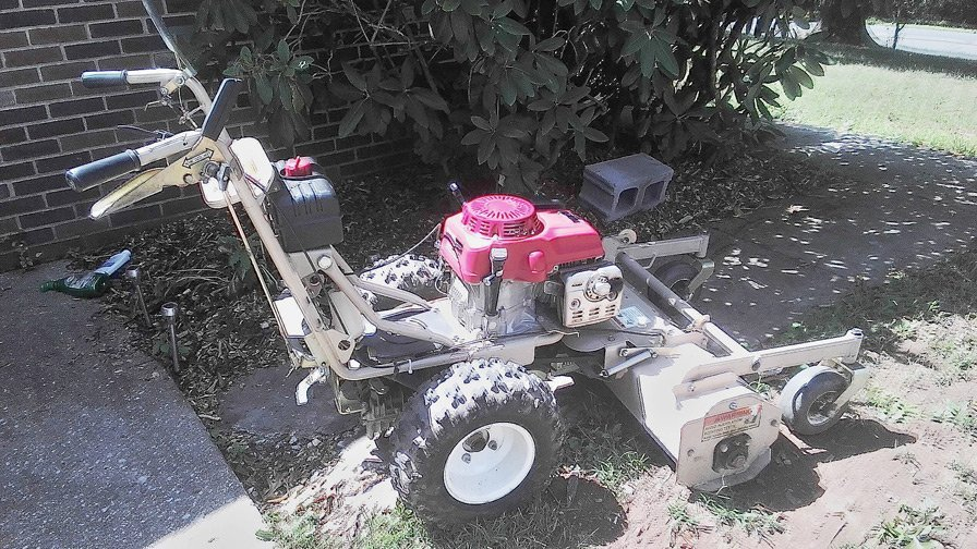 Landscape maintenance equipment