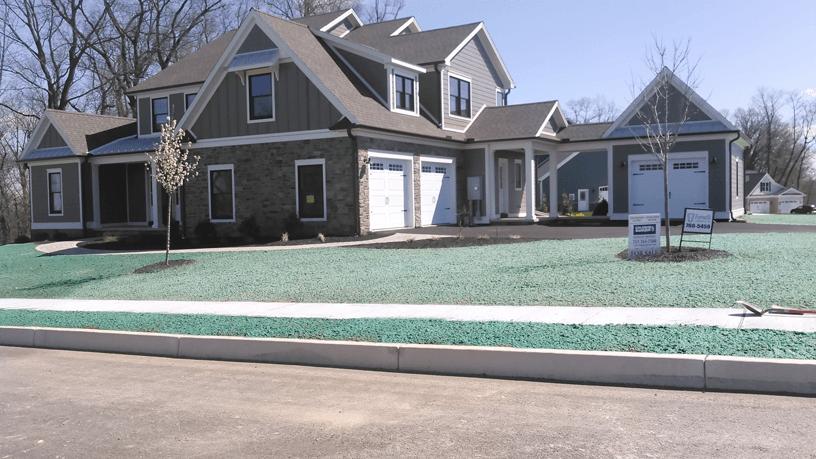 Residential Hydro seeding service