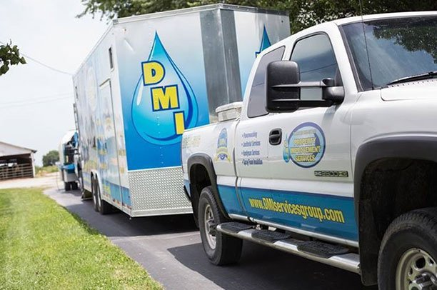 DMI Property Improvement Services vehicle