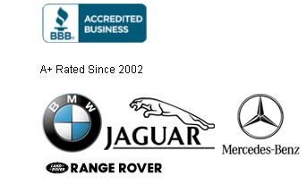 BMW, Jaguar, Mercedes-Benz, Range Rover Logo