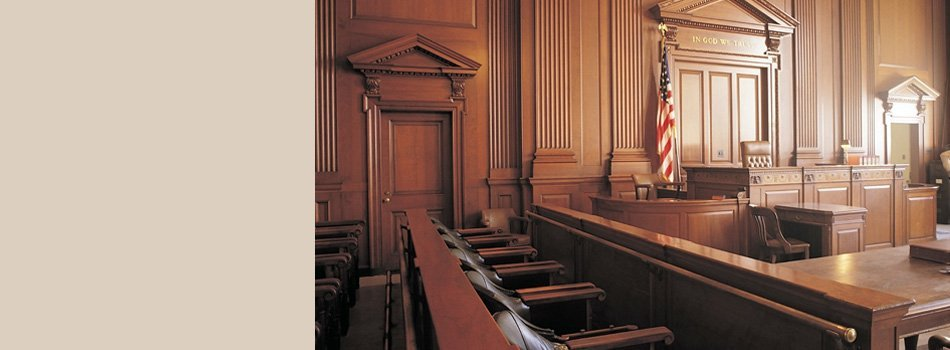 Justice courtroom