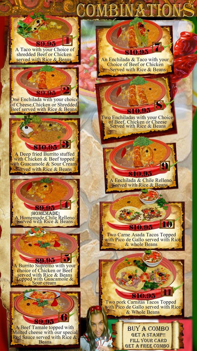 Burritos | Klamath Falls, OR | El Palacio | 541-882-5118