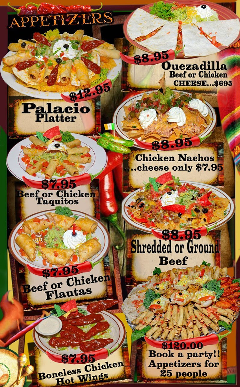 Mexican Food | Klamath Falls, OR | El Palacio | 541-882-5118