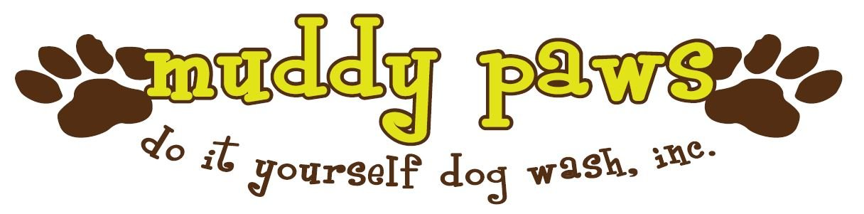 Muddy Paws DIY Dog Wash Inc. logo