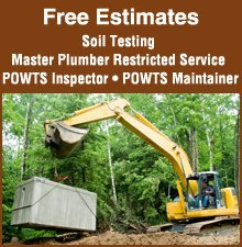 Excavating Contractor - Valders, WI - Petersen Septic Systems LLC