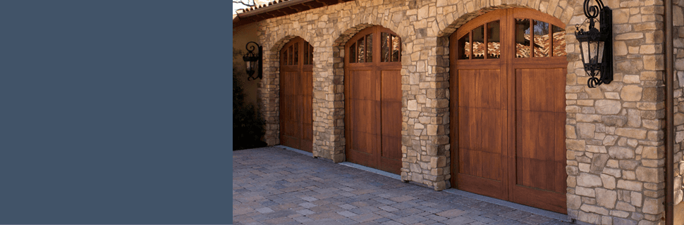 Brown Garage Door