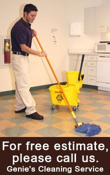 Janitorial Services - Visalia, CA - Genie's Cleaning Service