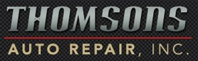 Thomson's Auto Repair Inc - logo