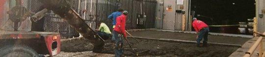 Concrete job