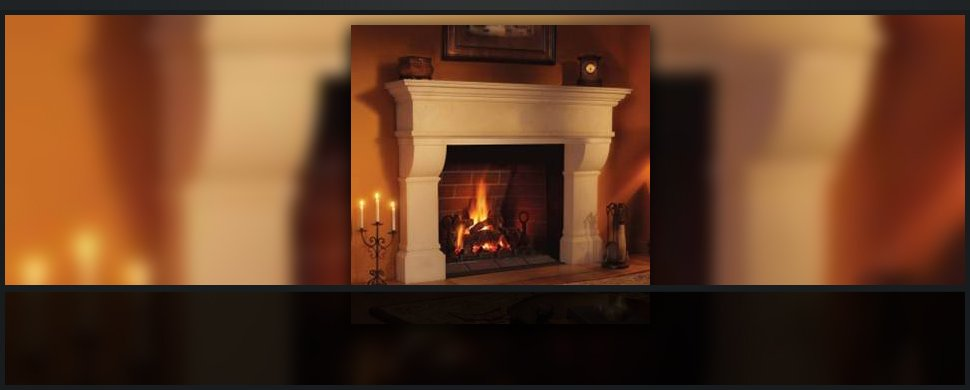 Comfortable fireplaces