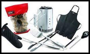 Various grill accessories