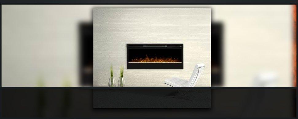 Comfortable fireplace