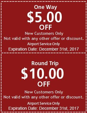 $5.00 OFF (One Way) $10.00 OFF (Roundtrip) for New Customers! | Vandy's Express | 586-792-2211