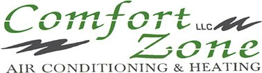 Comfort Zone Air Conditioning & Heating - Logo
