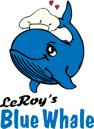 LeRoy's Blue Whale logo