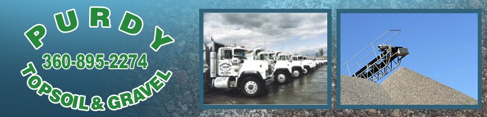 Bark Products - Gig Harbor, WA - Purdy Topsoil & Gravel